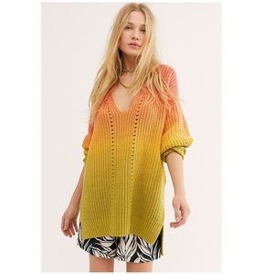 NWT Free People Come Together Sweater Tunic XS